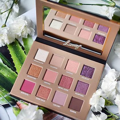 Palette 12 fards irisés & pigmentés DREAMY