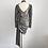 Robe drapée en tissu Lamé tenue de fêtes pas cher 2019 Zara style Festigals Silver Party Dress New Year