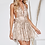 Combishort Dos Nu Sequins Casablanca Nude EMBELLISHED NIGHT NYMPH - MULTIWAY MINI DRESS sisters the label