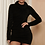 Robe col montant Près du corps Fourrure Fluffy robe d'hiver asos zara festigals nasty gal boohoo missguided