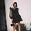 Robe noire Dots Jojo jodie la petite frenchie look