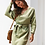 Robe Pull Tricotée en Coton robe d'hiver asos zara vinted soldes festigals france cadeau femme