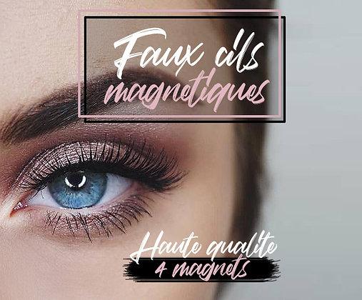 Faux Cils magnétiques Haute qualité 4 magnets pose facile, rapide et réutilisables / Magnetic eyeslashes Best quality