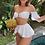 Bikini maillot de bain blanc vintage neuf festigals.fr vinted soldes zara asos mango pimkie undiz 2020