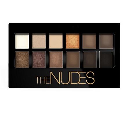 Palette Ombres à paupières The Nudes