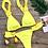 Bikini Brésilien Froufrous Crazy Ibiza Swimsuit Asos 2019 Festival Festigals soldes fluo