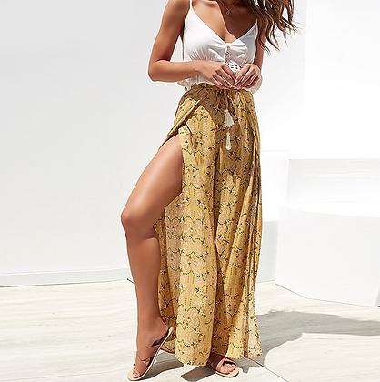 Pantalon d'été Fendu Solaire zara asos palazzo summer solar pants 2019