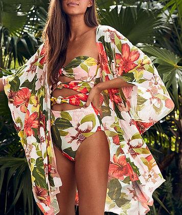 Maillot de bain Fleuri 1pc Alohaa