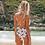 Maillot de bain Havaya imprimé fleuri taille haute festigals bikini vinted neuf soldes asos undiz etam calzedonia oysho