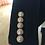 PREMIUM Blazer de Designer Excellence Noir boutons or Veste de fêtes idée tenue nouvel an noel 2019 festigals
