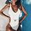 Monokini Côtelé avec ceinture Tempted Asos maillot de bain une pièce festigals zara h&m 2019