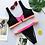 Bikini Brésilien Zipper Détails Néon sport bikini maillot de bain asos river island soldes Festigals 2019