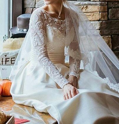Robe de mariée Manches longues Diana