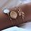 Set 3 Bracelets dorés Bohème Chic asos zara moa louyetu 2019 bijoux femme pas cher ethnique gypsy hippie chic