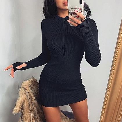 Robe en Coton Zip Pacha streetwear h&m stradivarius bershka asos zara festigals avis soldes vinted france vetements mode