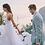 Thumbnail: PREMIUM Longue Robe de mariée bohème Chic