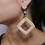 Boucles d'oreilles Fait main en Rotin handmade jewelry rattan 2019 earrings high quality