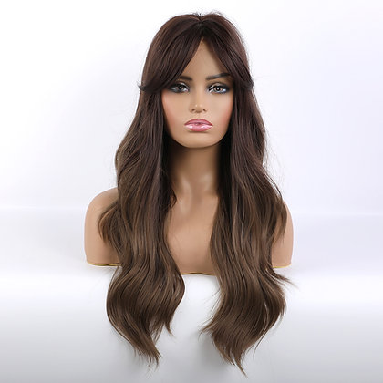 Perruque naturelle chatain style Megan Fox sexy Angelina Jolie perfect natural wig france festigals