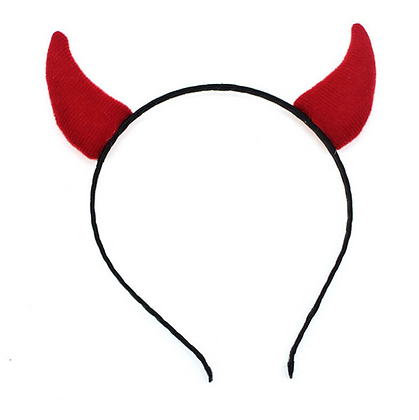 Serre-tête oreilles de diable Devil déguisement diable diablesse costume femme
