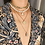 Collier Doré 4 rangs Perles Dynastie zara bijoux festigals soldes