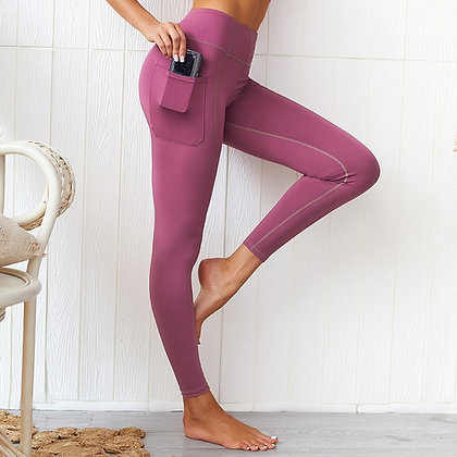 Workout - Legging Poche pour Smartphone Iphone Téléphone portable Seconde peau push up ultra confort women best gymshark