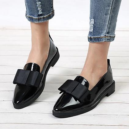 Sandales vernies Nœud 3cm Oxford