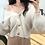 Thumbnail: Cardigan Mohair boutons dorés Sezanne V2