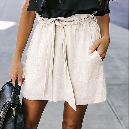 Jupe Taille Haute à Nouer Casual Line