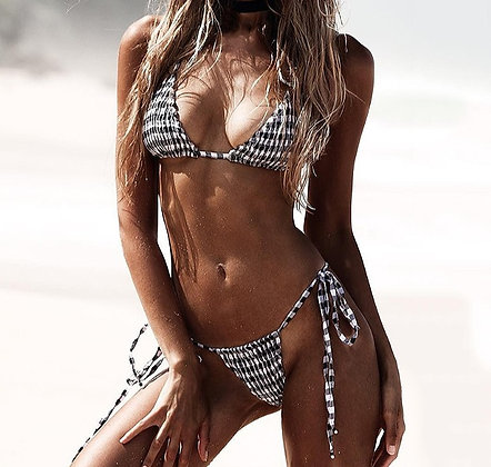 Maillot de bain à Carreaux Sexy at the Beach