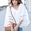 Blouse Blanche V Wings