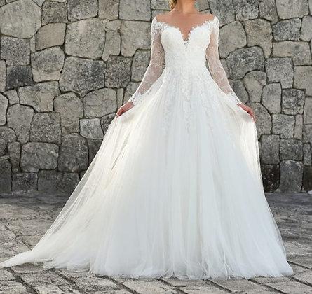 PREMIUM Robe de mariée manches longues Canary London