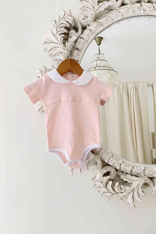 Peter Pan Bodysuit - Pink