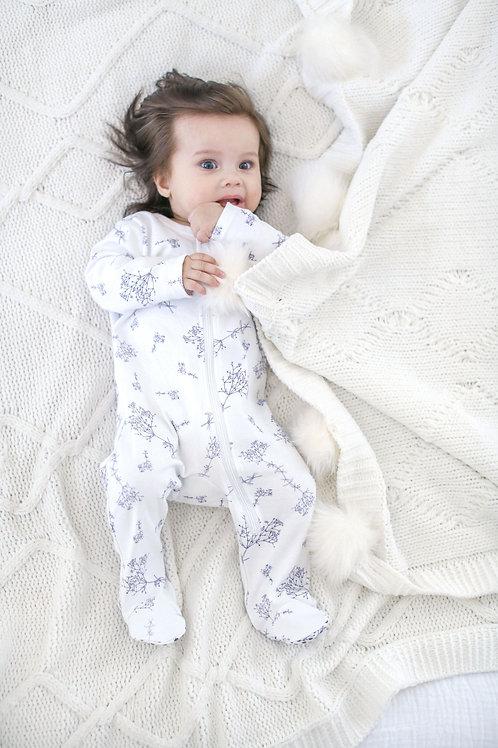 Baby's Breathe Long Sleeve Jumpsuit