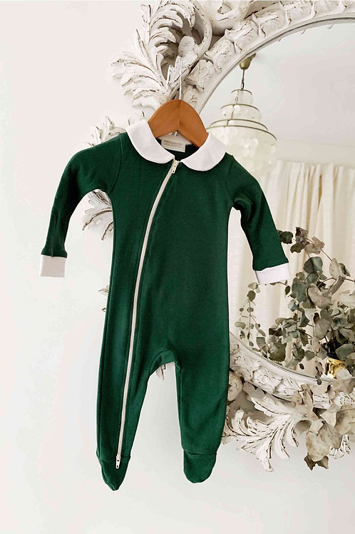Peter Pan Jumpsuit - Wilding Forest