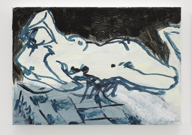 """Tracey Emin, """"Strong distance"""", 2013 © Tracey Emin"""