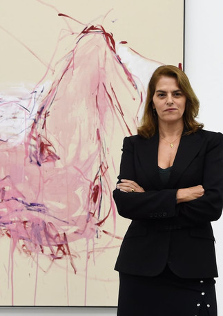 Tracey Emin opens her exhibition at the White Cube Bermondsey, London, 2019