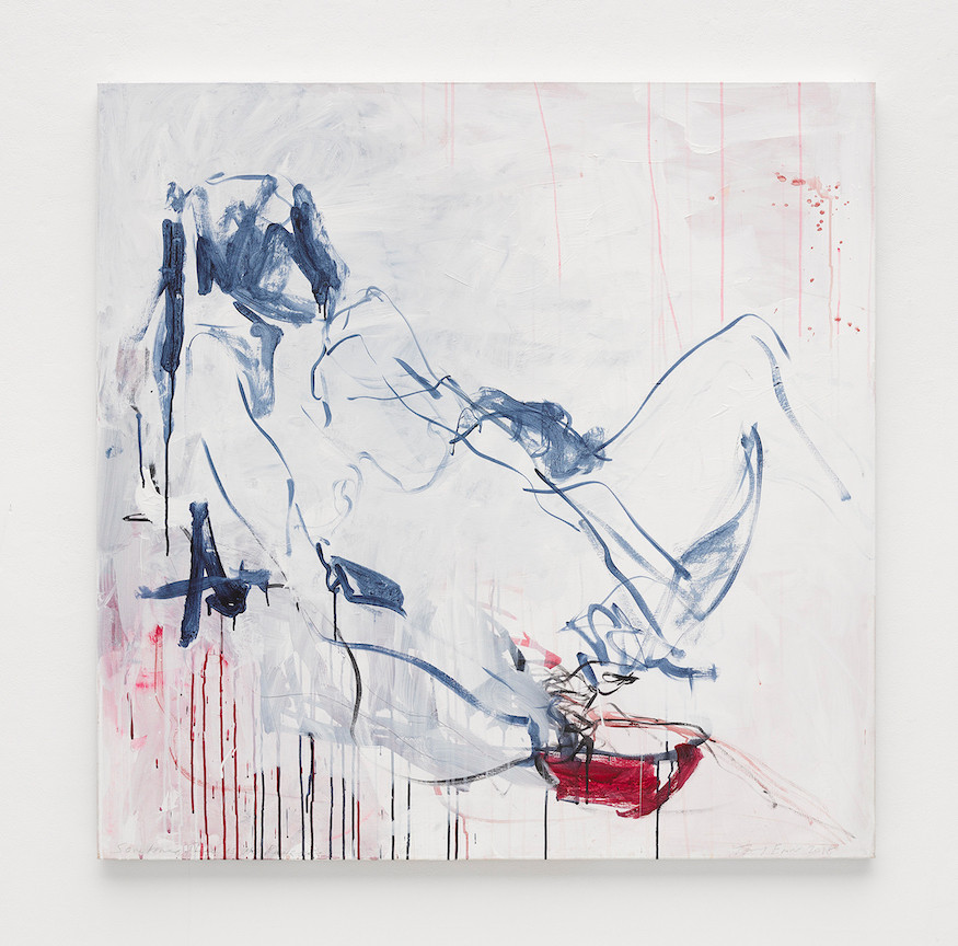"Tracey Emin, ""Sometimes there's no reason"", 2018 © Tracey Emin"