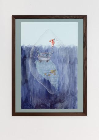 """Ann Hirsch, """"The Bath (The Iceberg series)"""", 2017 © Ann Hirsch"""