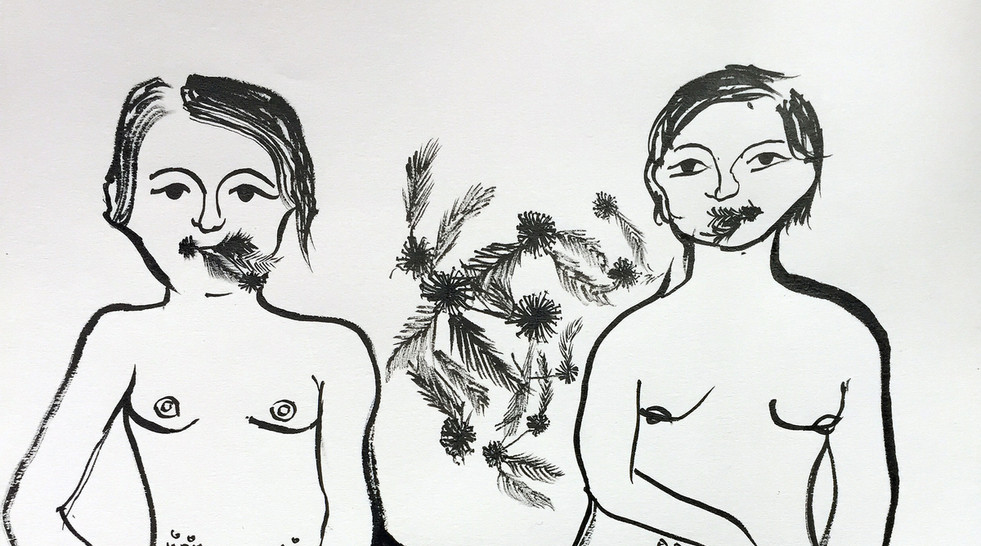 "Gaia Fugazza, ""Mimosa Pudica"", 2018."