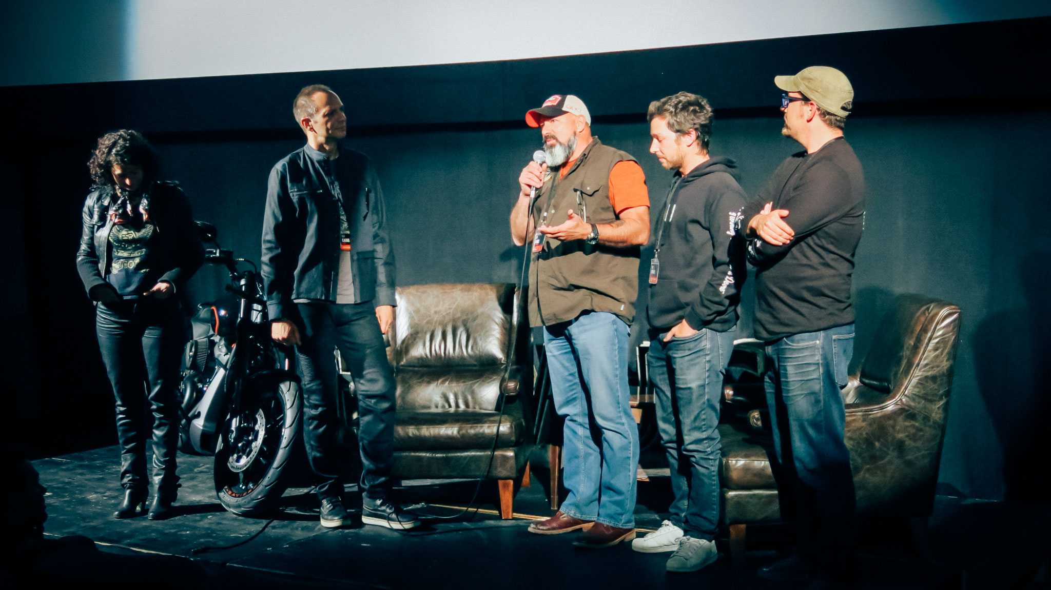 Cast and crew of No Highway Q&A