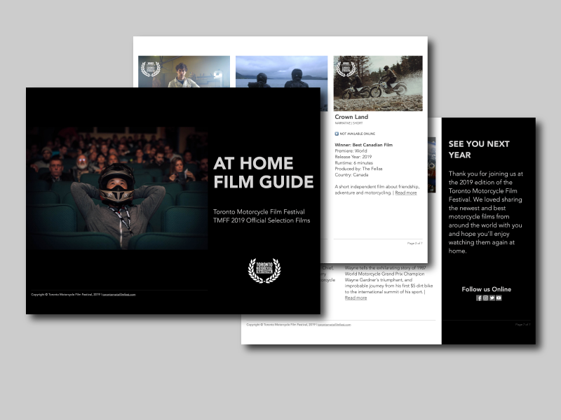 TMFF 2019 At Home Film Guide