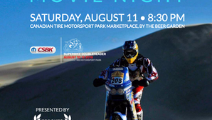 OUTDOOR MOVIE NIGHT AT CANADIAN SUPERBIKE DOUBLEHEADER WEEKEND