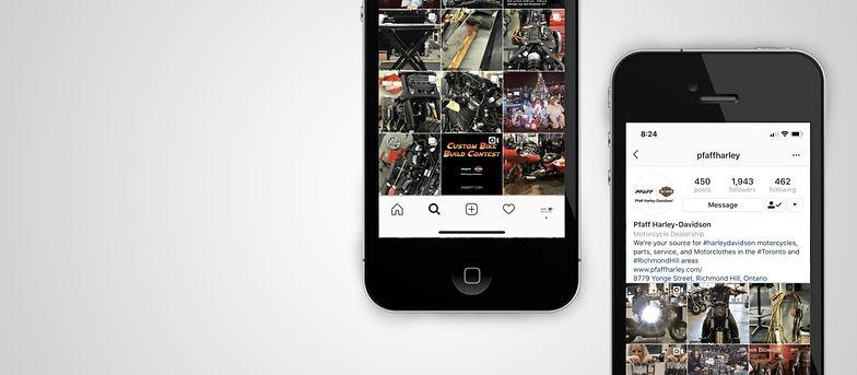 Pfaff Harley-Davidson Instagram Page