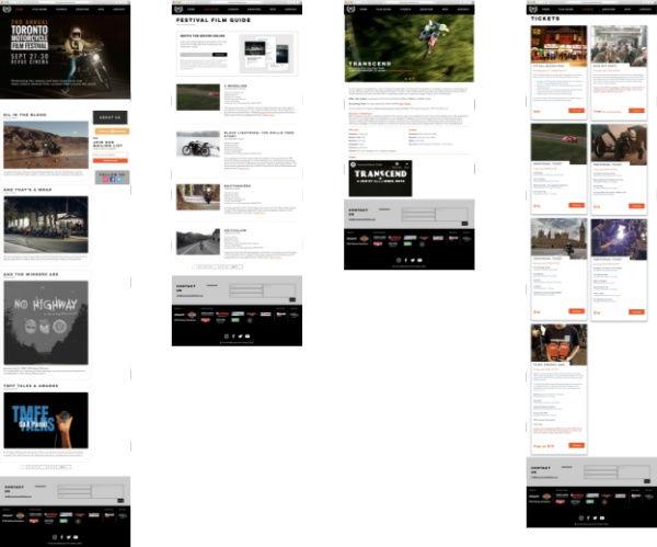 TMFF Website Layout