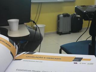 Participamos do curso sobre Usinas Fotovoltaicas