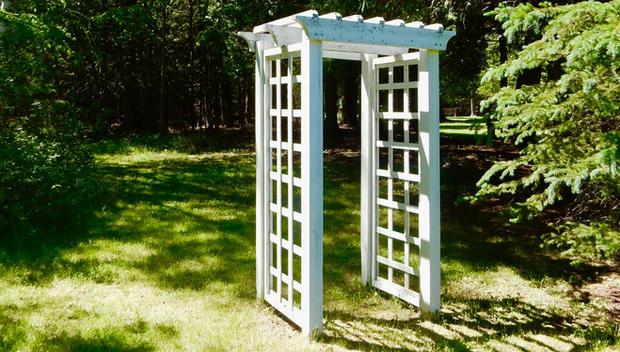 Space for a wedding at Garden Grove Retreat