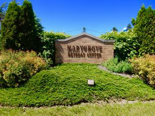 Cherishing Marygrove Retreat Center sign