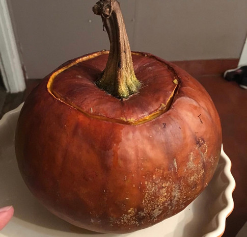 Stuffed Pumpkin - Food ideas