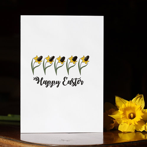 Happy Easter Card - 'Grow Your own' Sunflowers