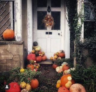 Halloween Themed Front Door